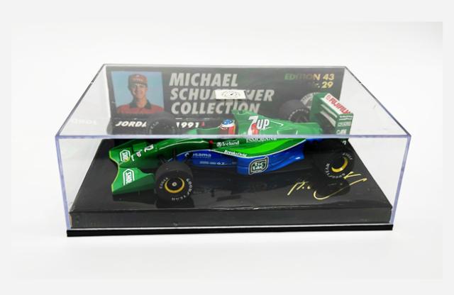 ミニチャンプス 1/43 ジョーダン F1 1991 M.シューマッハ シューマッハコレクションNr.29