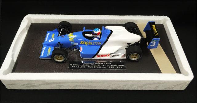 ミニチャンプス 1/18 レイナード スピース F903 M.シューマッハー 第1回インターナショナルF3 リーグ 富士スピードウェイ 1990 ウィナー