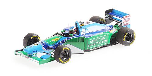ミニチャンプス 1/43 ベネトン フォード B194 M.シューマッハ 1994年ブラジルGP優勝