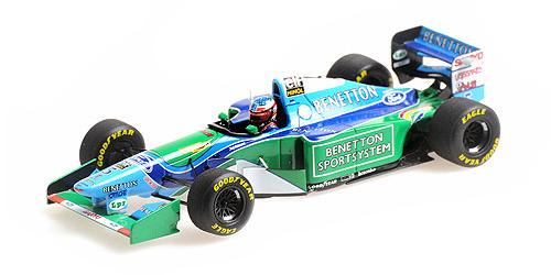 ミニチャンプス 1/43 ベネトン フォード B194 M.シューマッハ カナダGP 1994 ウィナー