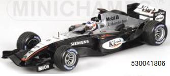 【2021年6月以降順次発売予定ご予約商品3/7締切】ミニチャンプス 530041806 1/18 マクラーレン メルセデス MP4/19 K.ライコネン 2004(再生産)予価:税込¥26400