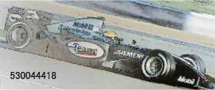 【2021年6月以降順次発売予定ご予約商品3/7締切】ミニチャンプス 530044418 1/18 マクラーレン メルセデス MP4/19 L.ハミルトン オートスポーツ ヤングドライバー テスト シルバーストーン 2004 予価:税込¥26400