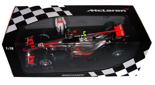 ミニチャンプス 1/18 マクラーレン メルセデス MP4-25 L.ハミルトン 2010年カナダGP優勝モデル 限定1500台