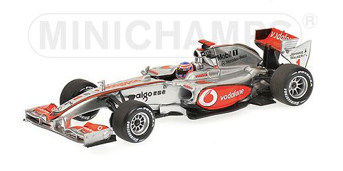 ミニチャンプス 1/43 マクラーレン 2010ショーカー J.バトン