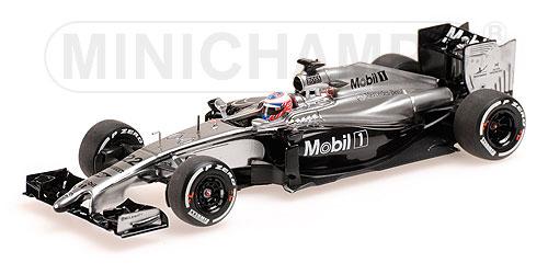 【並行輸入品】ミニチャンプス 1/43 マクラーレンMP4-29 J.バトン 2014年オーストラリアGP