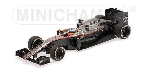 ミニチャンプス  1/43 マクラーレン ホンダ MP4-30 F.アロンソ 中国GP 2015