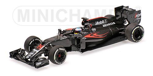 ミニチャンプス 1/43 マクラーレン ホンダ MP4-31 F.アロンソ 2016中国GP