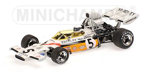 ミニチャンプス 1/43 マクラーレン フォード M19 B.レッドマン 1972年ドイツGP