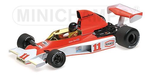 ミニチャンプス 1/18 マクラーレン フォード M23 J.ハント 1976年南アフリカGP