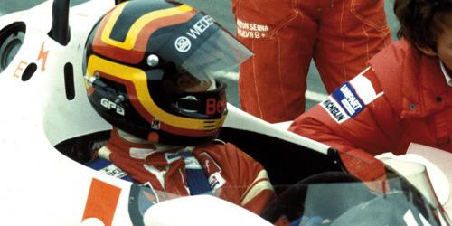 ミニチャンプス 1/43 マクラーレン コスワース MP4/1C S .ベロフ シルバーストーン テスト 1983年10月25日
