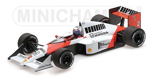 ミニチャンプス 1/18 マクラーレン ホンダ MP4/5 A.プロスト 1989 ワールドチャンピオン