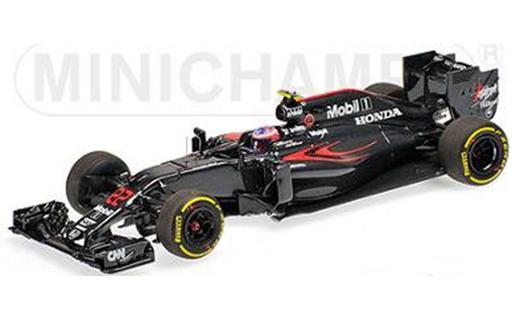 ミニチャンプス 1/43 マクラーレン ホンダ MP4-31 J.バトン 2016年オーストラリアGP