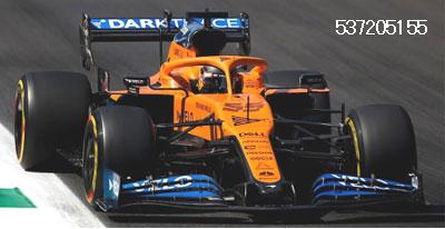 ミニチャンプス 1/43 マクラーレン MCL35 C.サインツJr. イタリアGP 2020 2位入賞