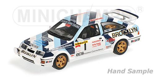 ミニチャンプス 1/43フォード シエラ RS 500 A .セナ ラリーカー 1986 セナ・コレクション