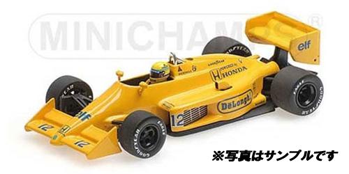 ミニチャンプス 1/18 ロータス ホンダ 99T A.セナ 1987年モナコGP優勝