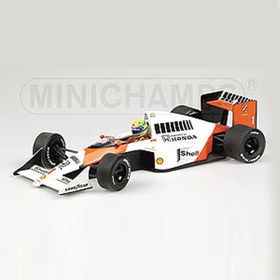 ミニチャンプス 1/18 マクラーレン ホンダ MP4/5 A.セナ 1989 セナ・コレクション