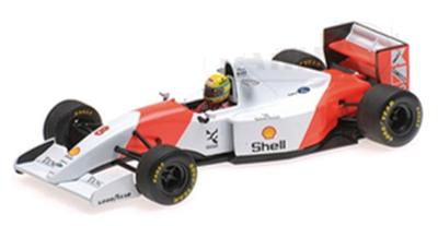 ミニチャンプス 1/18 マクラーレン フォード MP4/8 A.セナ 1993年日本GP優勝