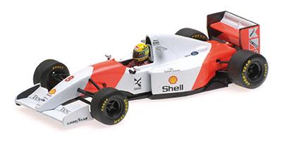 ミニチャンプス 1/43 マクラーレン フォード MP4/8 A.セナ 1993年ヨーロピアンGP優勝