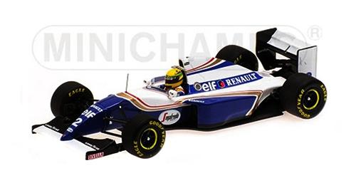ミニチャンプス 1/18 ウィリアムズ ルノー FW16 A.セナ 1994年ブラジルGP
