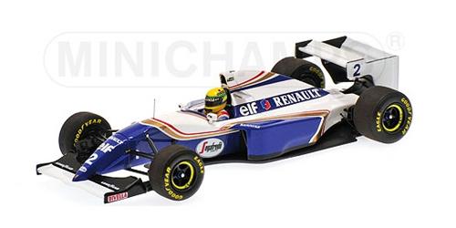 ミニチャンプス 1/18 ウィリアムズ ルノー FW16 A.セナ 1994年パシフィックGP