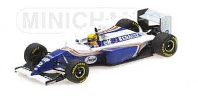 【再入荷】ミニチャンプス 1/18 ウィリアムズ FW16 A.セナ 1994年サンマリノGP