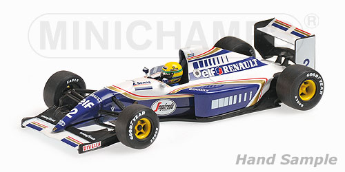 ミニチャンプス 1/43 ウィリアムズ ルノー FW16 A .セナ 1994 (NEWパッケージ)
