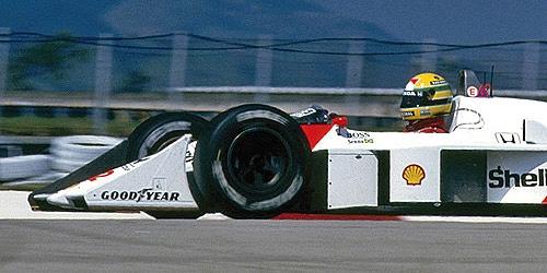ミニチャンプス 1/43 マクラーレン ホンダ MP4/4 A.セナ 1988年ハンガリーGP優勝