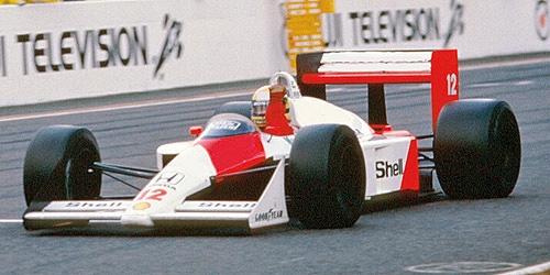 ミニチャンプス 1/43 マクラーレン ホンダ MP4/4 A.セナ 1988年日本GP優勝