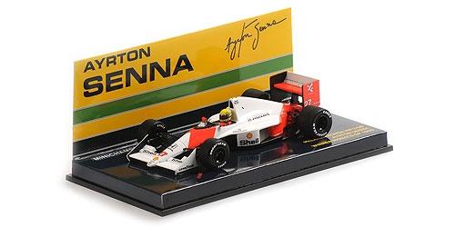 ミニチャンプス 1/43 マクラーレン ホンダ MP4/5B A.セナ 1990年モナコGP優勝