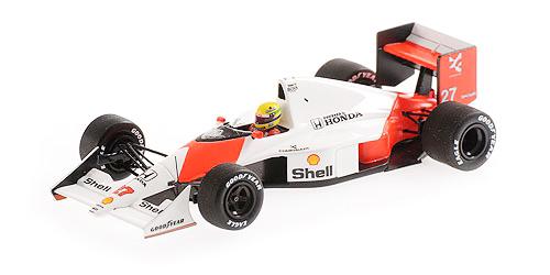 ミニチャンプス 1/43 マクラーレン ホンダ MP4/5B A.セナ 1990年カナダGP優勝