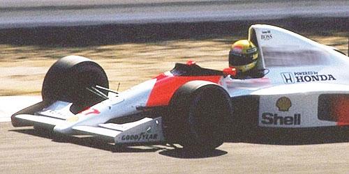 ミニチャンプス 1/43 マクラーレン ホンダ MP4/5B A.セナ 1990年日本GP