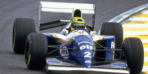 ミニチャンプス 1/43 ウィリアムズ FW16 A.セナ 1994年ブラジルGP(NEWパッケージ)