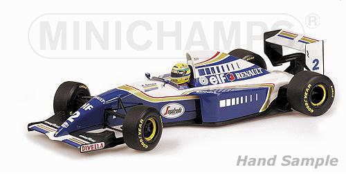 ミニチャンプス 1/12 ウィリアムズ ルノー FW16 A.セナ 1994 セナ・コレクション