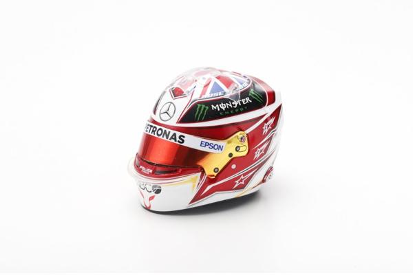 スパーク 1/5 メルセデスF1 L.ハミルトン 2019 ヘルメット