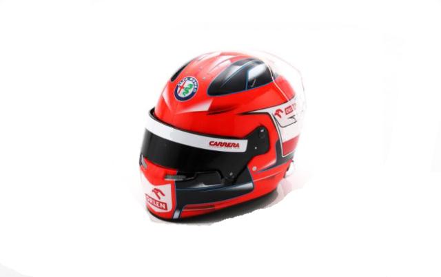 スパーク 1/5 R.クビサ ヘルメット-2020アルファロメオ