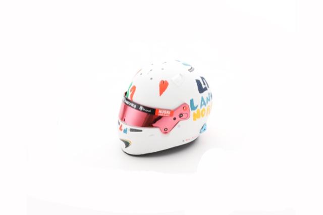 スパーク 1/5 L.ノリス 2020年イギリスGPヘルメット