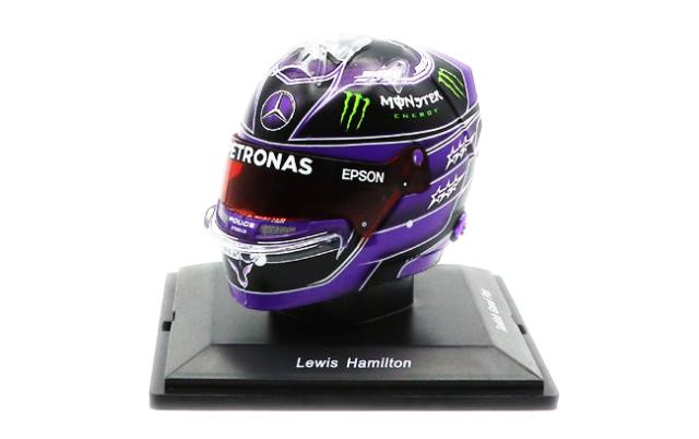 スパーク 1/5 L.ハミルトン ヘルメット 2020 ワールドチャンピオン