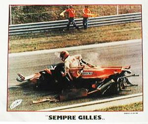 【SALE】ジル ビルニューブ イモラ 1980.4.13 フォトグラフカード