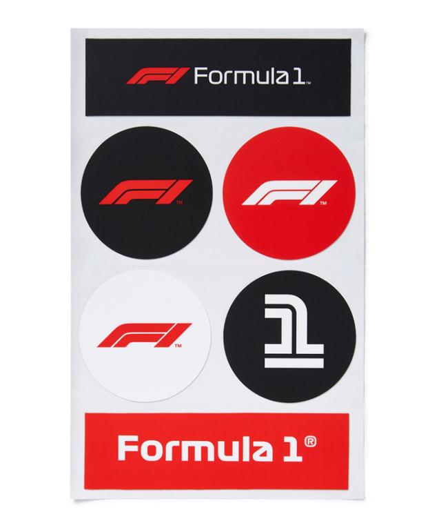 Formula1(F1公式)ロゴステッカー