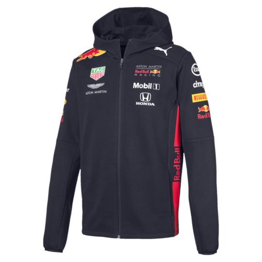 2019 PUMA ASTON MARTIN REDBULL RACING レッドブルレプリカ フーデッド スウェットジャケット