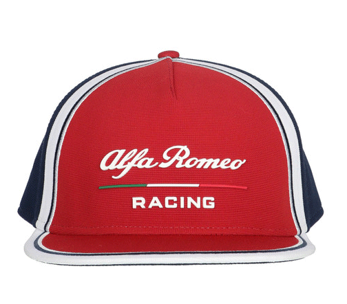 2019 アルファロメオF1チーム チームフラットキャップ