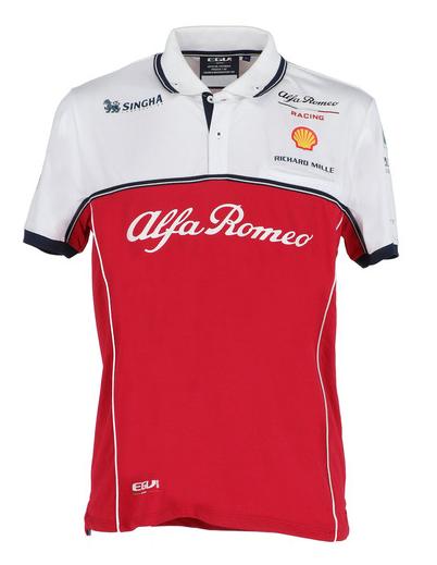 2019 アルファロメオF1チーム チームポロシャツ