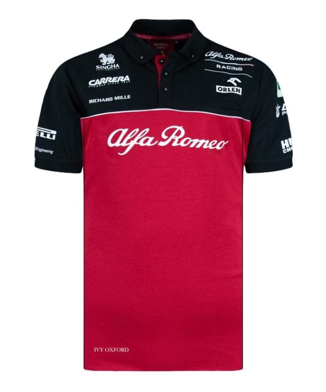 2020 アルファロメオF1チーム チームポロシャツ