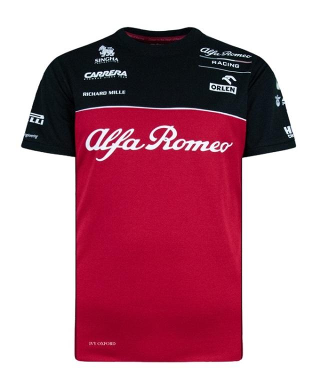 2020 アルファロメオF1チーム チームTシャツ
