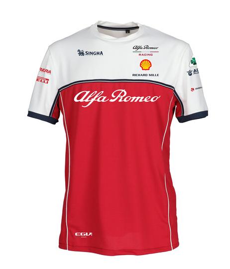 2019 アルファロメオF1チーム チームTシャツ