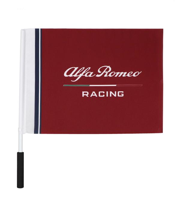2019 アルファロメオF1チーム ロゴ ハンドフラッグ