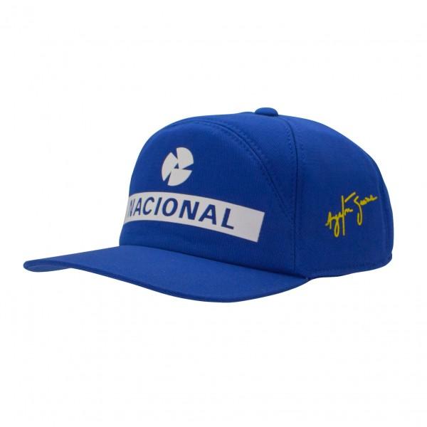 【再入荷】セナ財団公認商品 アイルトン・セナ NACIONAL(ナショナル)キャップ