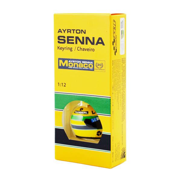 【再入荷】セナモナココレクション A.セナ 3Dヘルメットキーホルダー 1987年