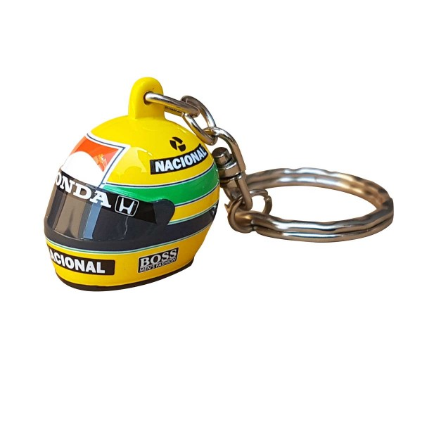 アイルトン・セナコレクション 3Dヘルメットキーホルダー