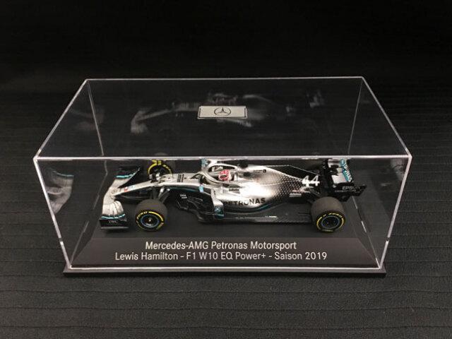 【並行輸入品】ミニチャンプス 1/43 メルセデス F1 W10 L.ハミルトン 2019年 メルセデス別注BOX No.44